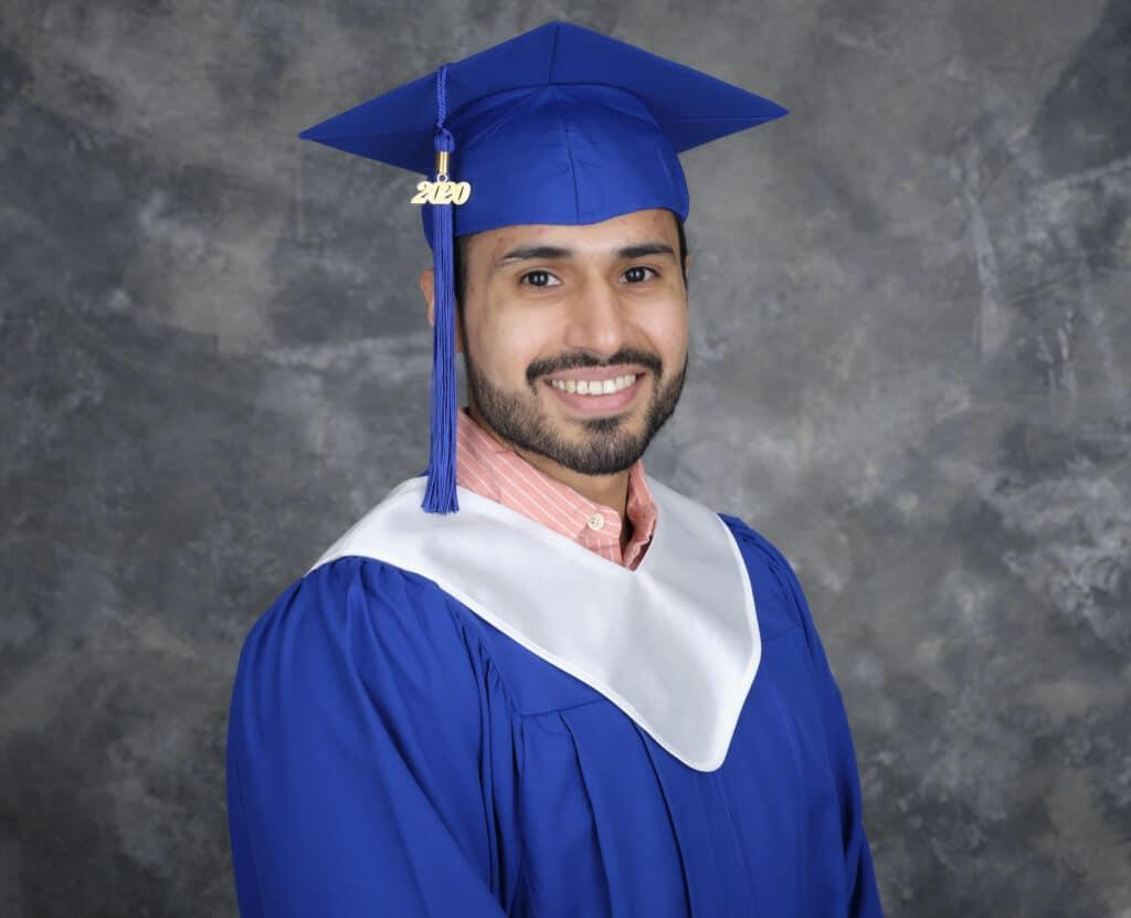 Business Diploma Graduate Valentin